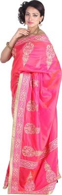 U fashion Embellished Kanjivaram Silk Sari