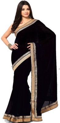 Thelibazz Embellished Bollywood Pure Georgette Sari