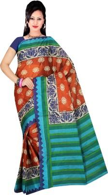 Hi-Choice Floral Print Daily Wear Cotton Sari