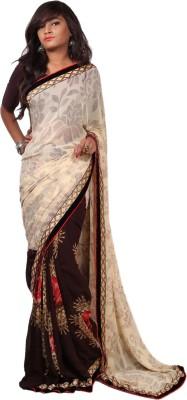 Aifaa Printed Fashion Pure Georgette Sari