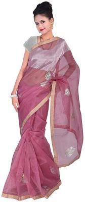 Home India Self Design Fashion Handloom Net Sari