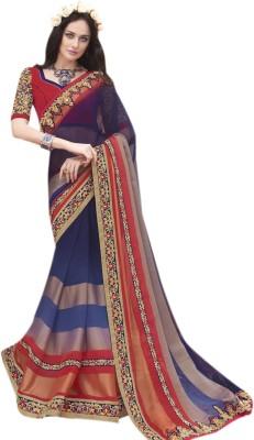 Khantil Embriodered Fashion Chiffon Sari