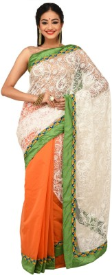 Sudeshnasboutique Self Design Fashion Handloom Net Sari