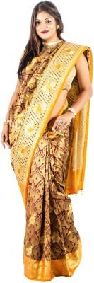 Vividha Embriodered Fashion Art Silk Sari