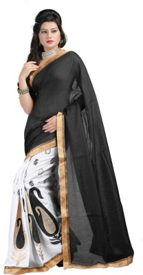 Vishal99 Printed Fashion Jute Sari