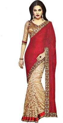 Reya Self Design Fashion Brasso Sari