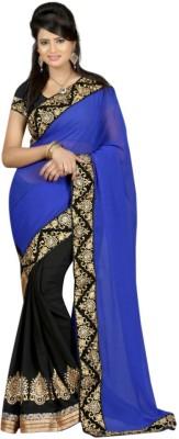 SAN Printed Bollywood Pure Georgette Sari