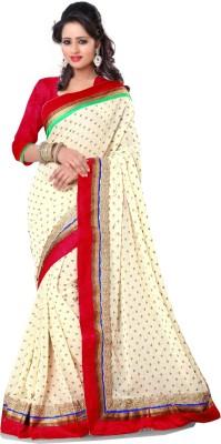 Swaman Embellished Bhagalpuri Silk Cotton Blend Sari
