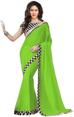 Alankar Creations Self Design Bollywood Pure Georgette Sari