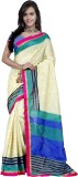 Prafful Striped Bhagalpuri Silk Sari