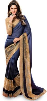 Utsav Fashion Embellished Patola Crepe Sari