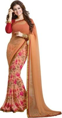 Glamour Tex Printed Bollywood Georgette Sari