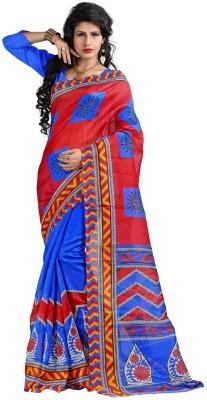 Geny And Geny Printed Fashion Handloom Cotton Sari
