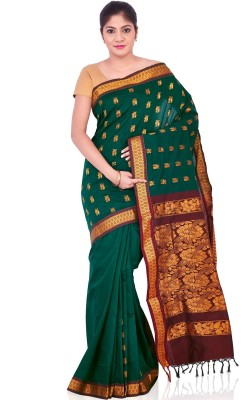 IndusDiva Floral Print Fashion Cotton Sari