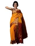 Appu Woven Gadwal Handloom Silk Cotton B...