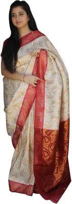 The Indian Era Embriodered Banarasi Handloom Silk Sari