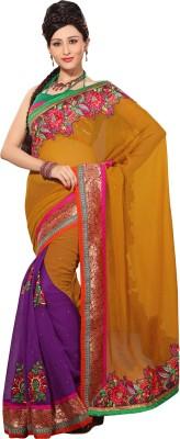 Prafful Self Design Fashion Silk Sari