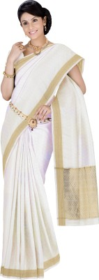 Srinidhi Silks Self Design Mysore Crepe Sari