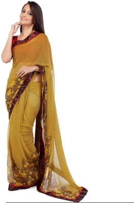 Moiaa Self Design Bollywood Georgette Sari