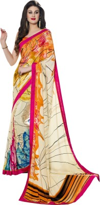 Roop Kashish Embellished Bollywood Silk, Crepe Sari