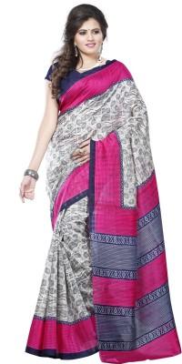 Varanga Printed Fashion Pure Silk Sari