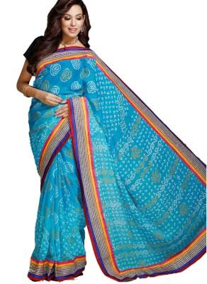 Aapno Rajasthan Printed Chiffon Sari