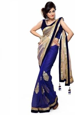 Surati Printed Bollywood Art Silk Sari