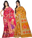Azara Lifestyle Embellished Kanjivaram S...