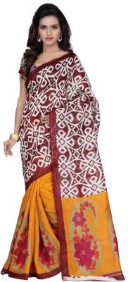 Hamsini Self Design Kosa Art Silk Sari