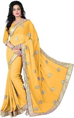 Vishakha Fashions Embriodered Fashion Jacquard Sari