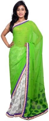 Kanchan Shree Printed Bollywood Chiffon Sari