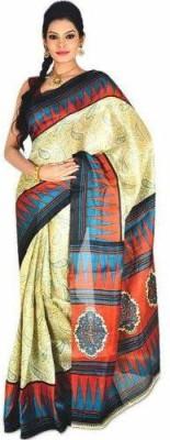 14Fashions Paisley Bhagalpuri Cotton Sari