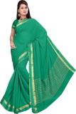 Roopkala Silks Solid Bollywood Chiffon S...