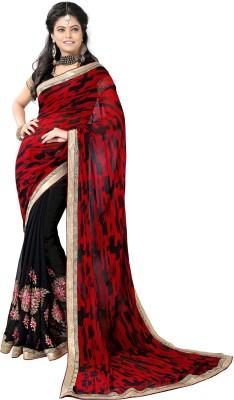 Blissta Embriodered Fashion Georgette Sari