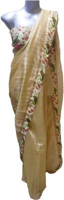 shivangi sarees Floral Print Bollywood Silk Sari