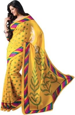 Shyam Creations Printed Bollywood Banarasi Silk Sari