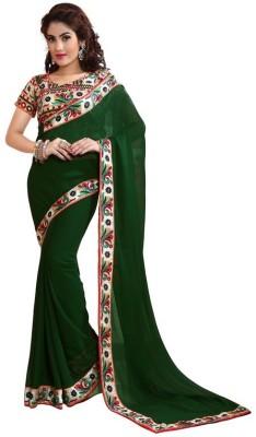 BollyLounge Printed Fashion Georgette Sari