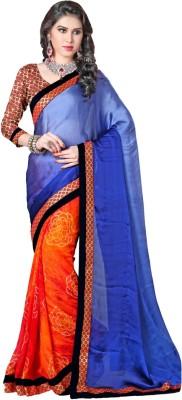 Lovelylook Printed Fashion Chiffon Sari