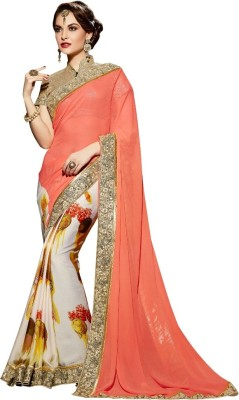 Reema Khandelwal Embriodered Fashion Georgette Sari