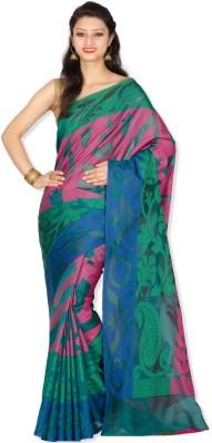 Chandrakala Woven Banarasi Silk Cotton Blend Sari