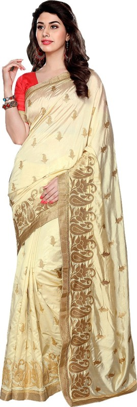 Apple Self Design Bollywood Art Silk Sari