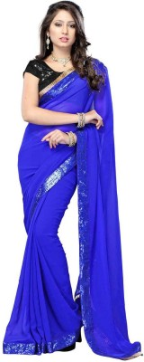Sabsesasta Self Design Fashion Chiffon Sari