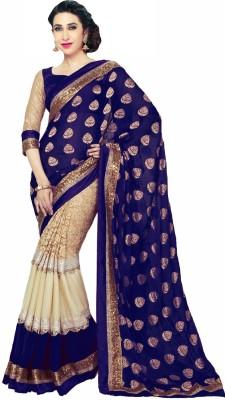 Apka Apna Fashion Embriodered Bollywood Handloom Viscose Sari