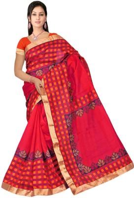 Mathura Printed Paithani Cotton Sari