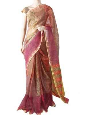 Glitters Printed Fashion Kota Cotton Sari
