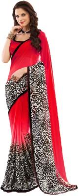 Wama Fashion Printed Bollywood Chiffon Sari
