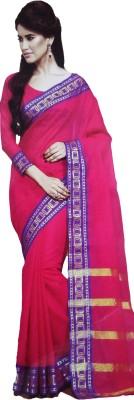 Shaarada Self Design Venkatagiri Handloom Silk Cotton Blend Sari