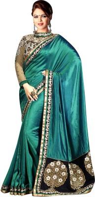 Colour Trendz Self Design Fashion Chiffon Sari