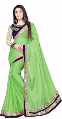 Sanshine Fashion Plain Fashion Lycra Sari