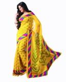 Sunaina Solid Daily Wear Synthetic Saree...